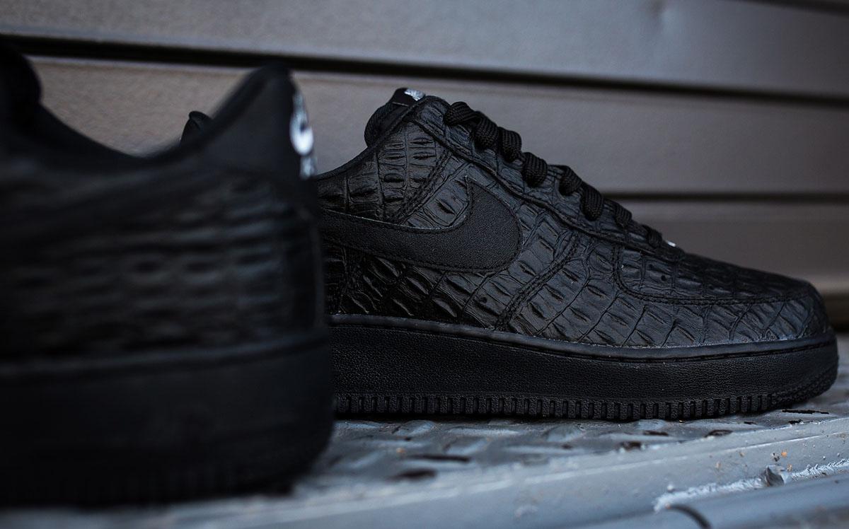 nike air force 1 low black crocs coupon