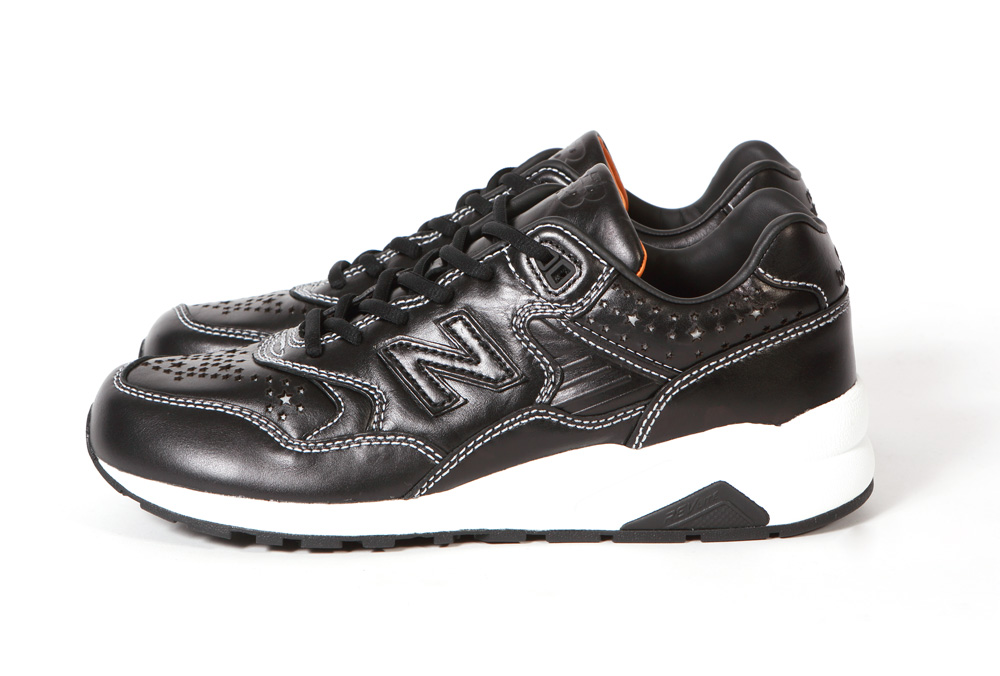 WHIZ Limited x mita sneakers x New Balance MRT 580 Black Reflective profile