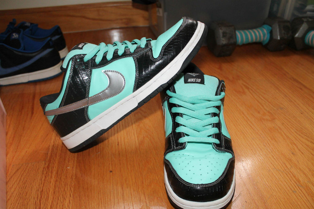 Spotlight // Pickups of the Week 12.29.12 - Nike SB Dunk Low Tiffany by sparkvoltage