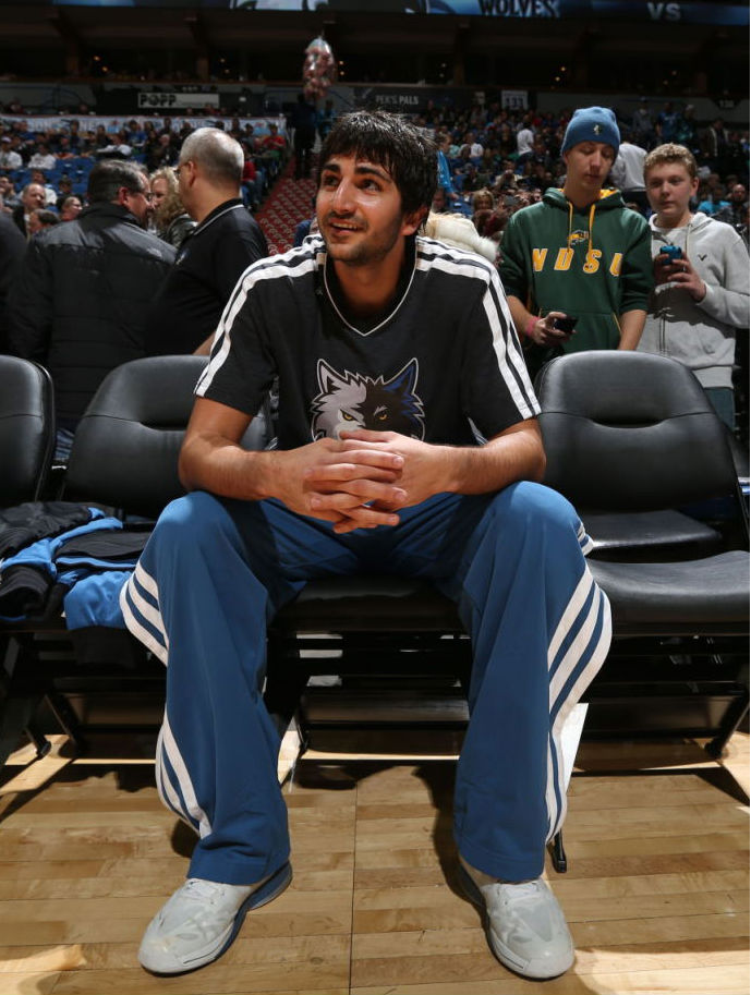 Ricky Rubio wearing adidas adizero Crazy Light 2 (1)