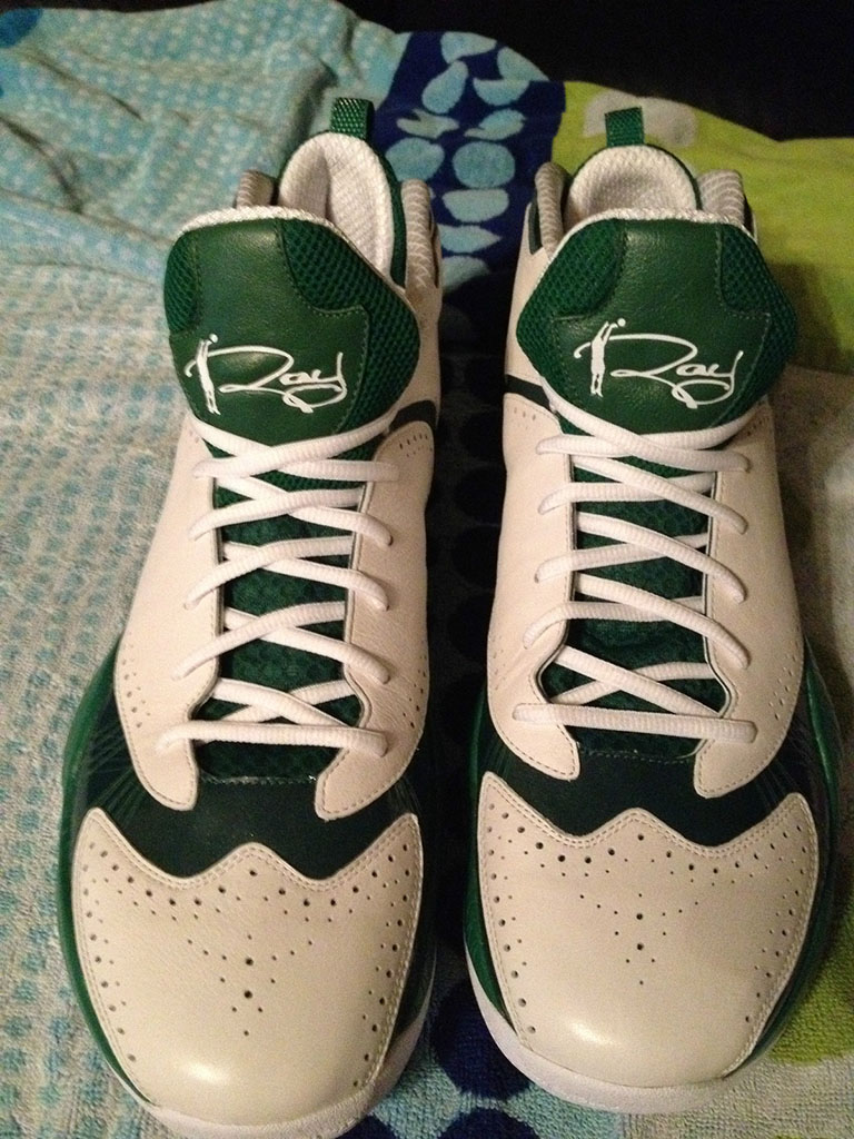 Air Jordan 2012 Ray Allen Home PE (3)