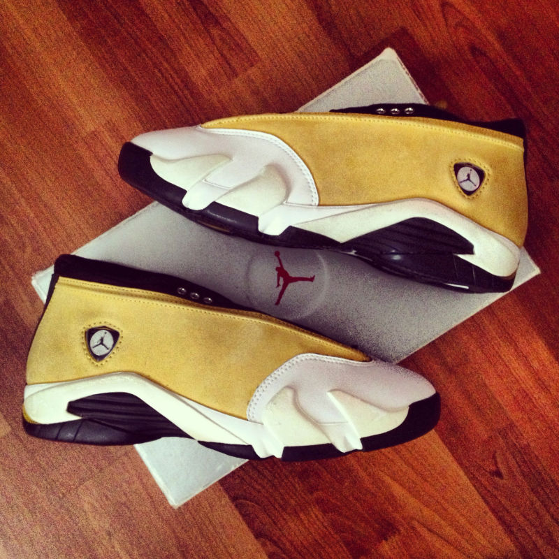 Pickups of the Week // 4.7.13 - Air Jordan XIV Low Ginger by YoungSk8