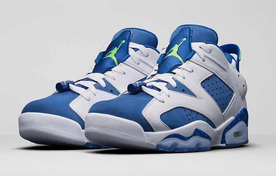 buy online 28d2f 391d9 Air Jordan 6 Low Insignia Blue 304401-106 (1)