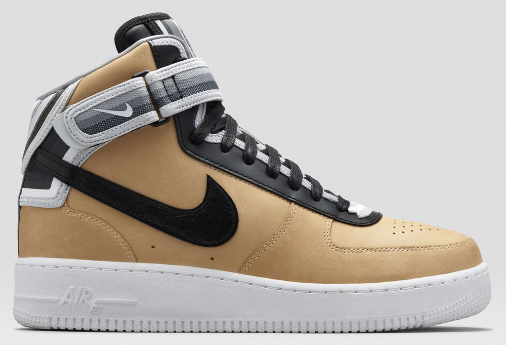 Riccardo Tisci s Nike Air Force 1 RT  Beige Collection  Officially ... 258a91414