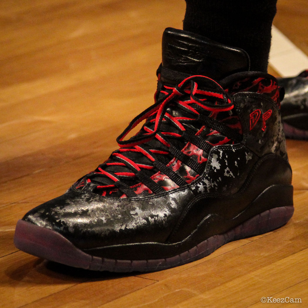 Terrence Ross wearing Air Jordan 10 Doernbecher