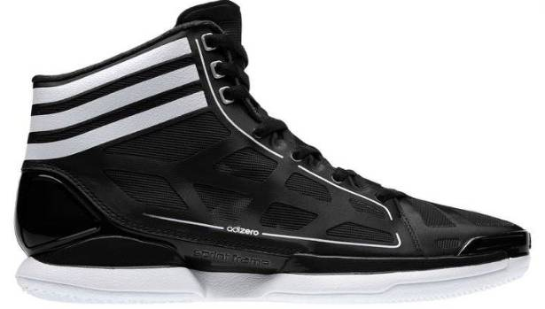 3312e721bb6e adidas adiZero Crazy Light - Black White