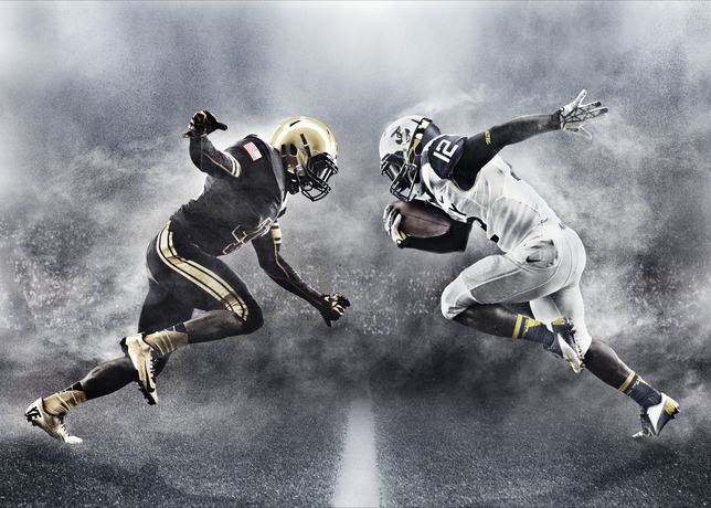 cd8336f370f Army and Navy Reveal New Nike Football Uniforms