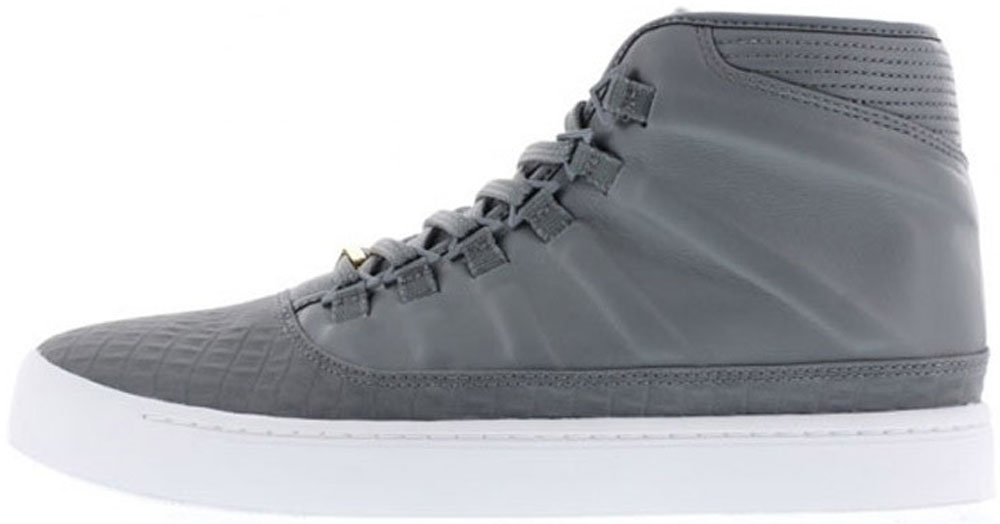 Jordan Westbrook 0 Cool Grey/Metallic Gold-White
