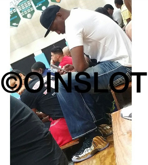 0f599d180b519 Penny Hardaway Spotted in the  Mirror  Nike Air Foamposite One ...