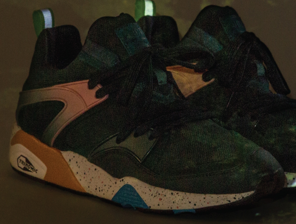 Puma Blaze Of Glory Moss Green/Pink