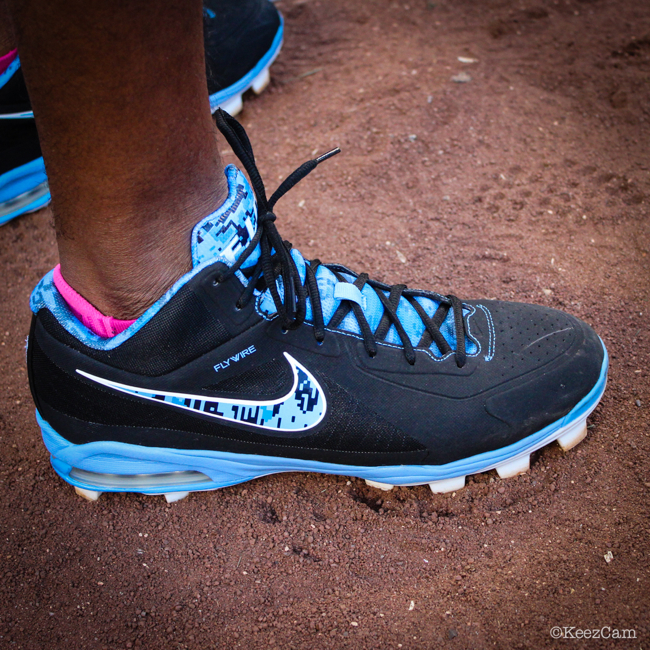 MLB Watch Tim Beckham Nike Air Max Elite Rays PE