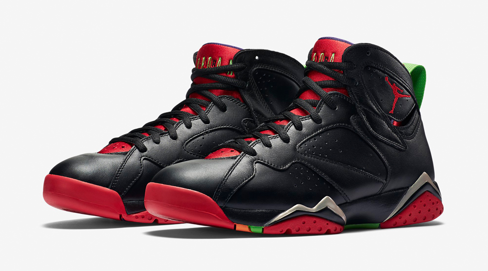 1367731b50dfc5 Here s Marvin the Martian s Air Jordan 7 On-Foot
