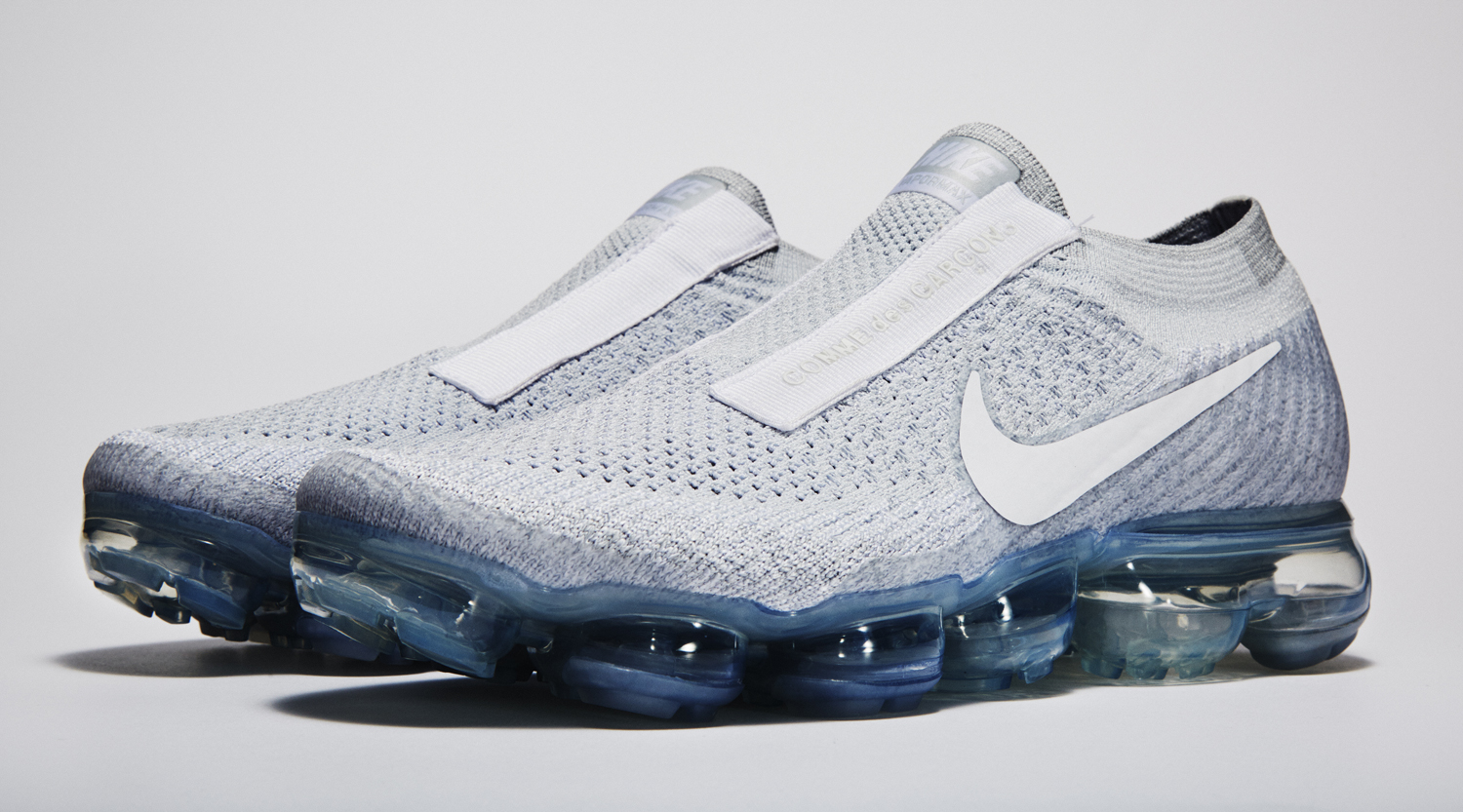 reputable site 437ac 562a7 White Nike Air VaporMax Comme des Garcons
