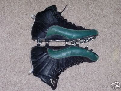Donovan McNabb's Air Jordan 12 XII Eagles PE