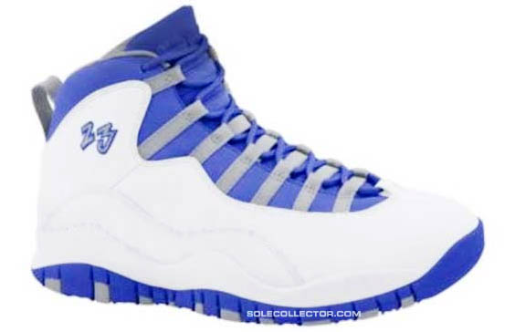 Air Jordan 10 X White Old Royal Stealth 487214-107