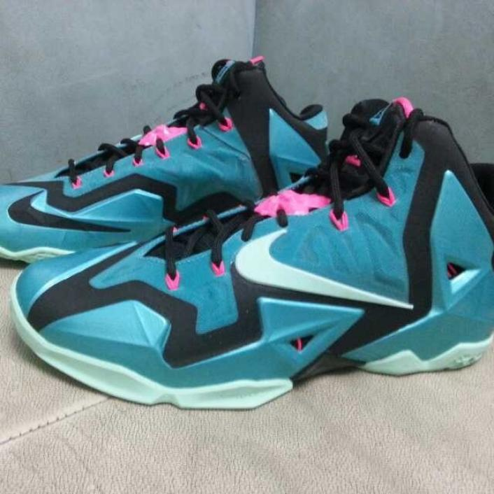 Nike LeBron 11 South Beach 616175-330 (1)