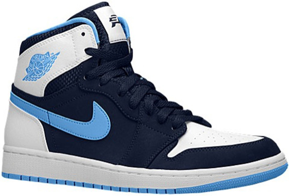 Air Jordan 1 Retro High Midnight Navy/University Blue-White