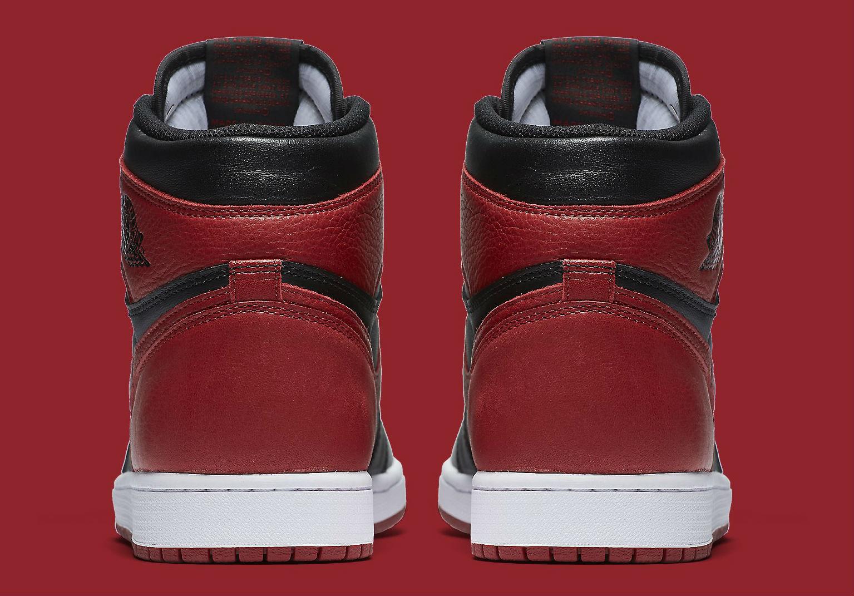 huge discount 4f8cf a3630 Air Jordan 1 Banned Heel 555088-001