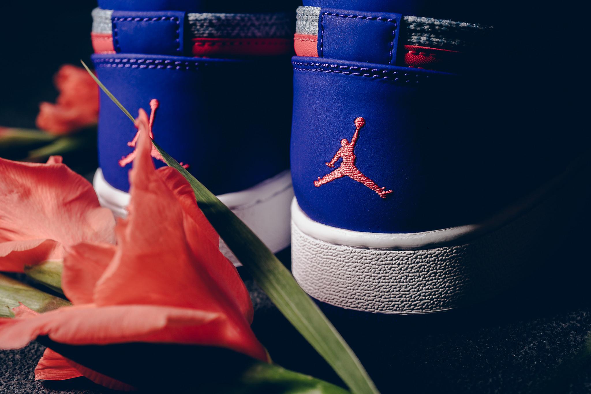 Air Jordan 1 GG Fierce Purple Heel