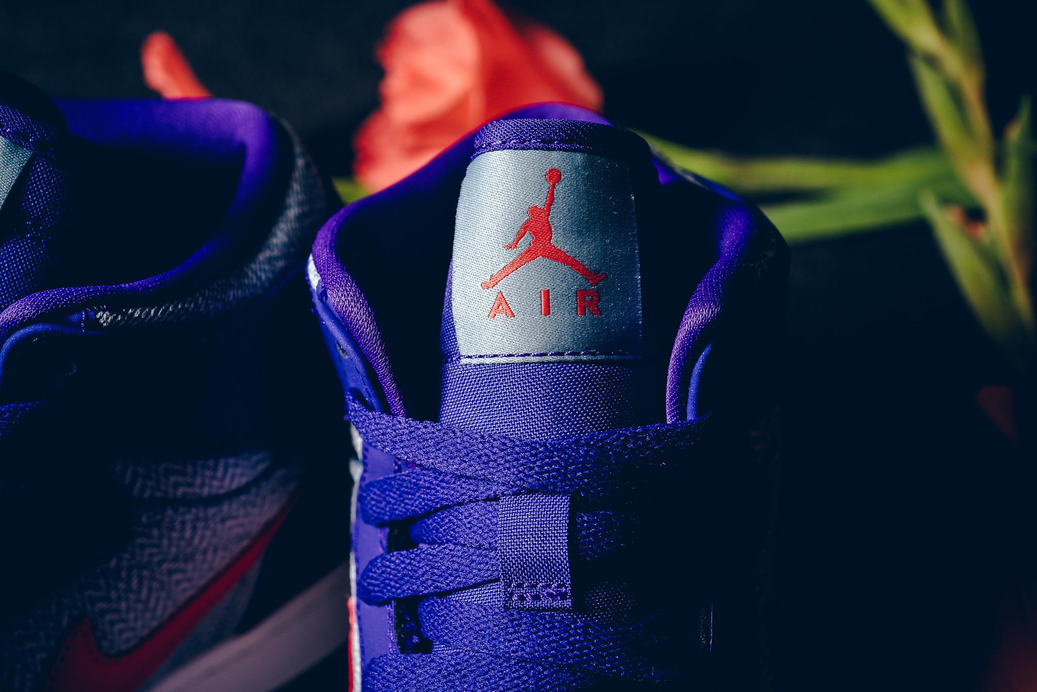 Air Jordan 1 GG Fierce Purple Tongue