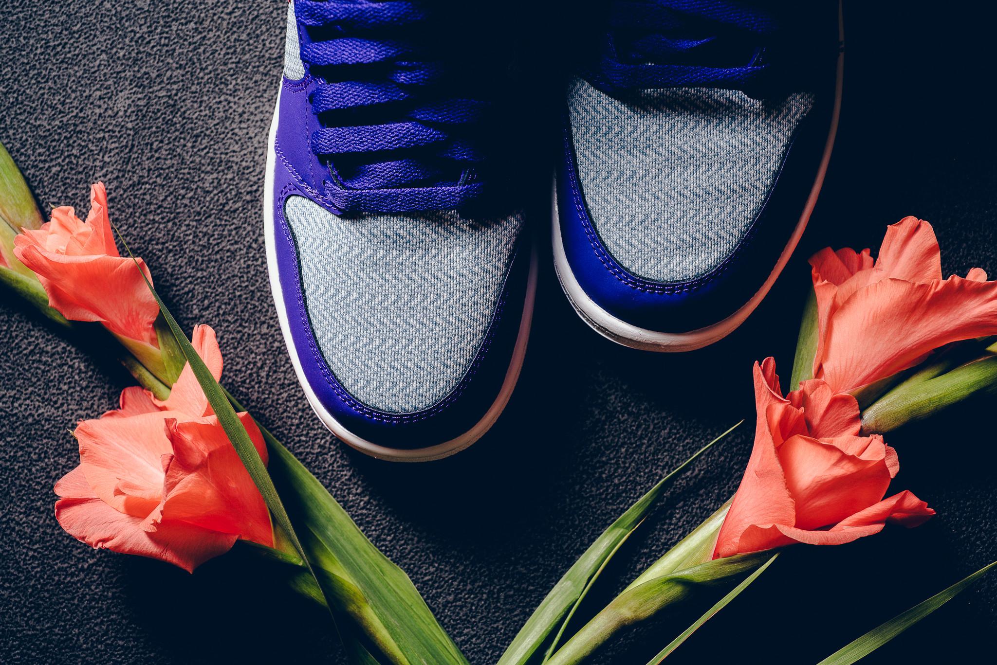 Air Jordan 1 GG Fierce Purple Toe