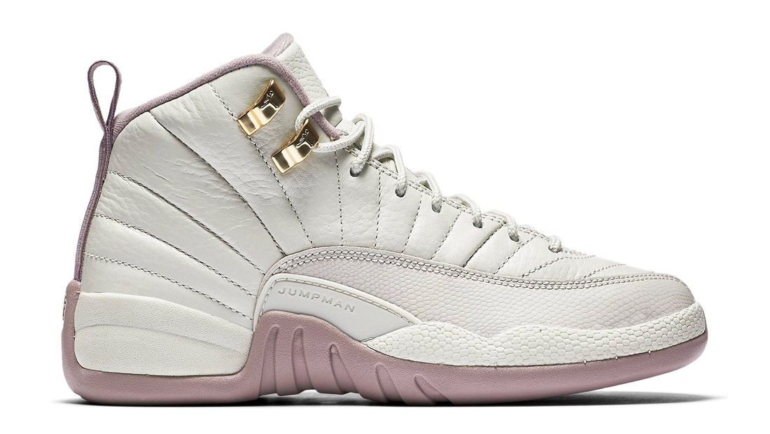 half off e004f 657d8 Air Jordan 12 Retro GS Heiress Plum Fog