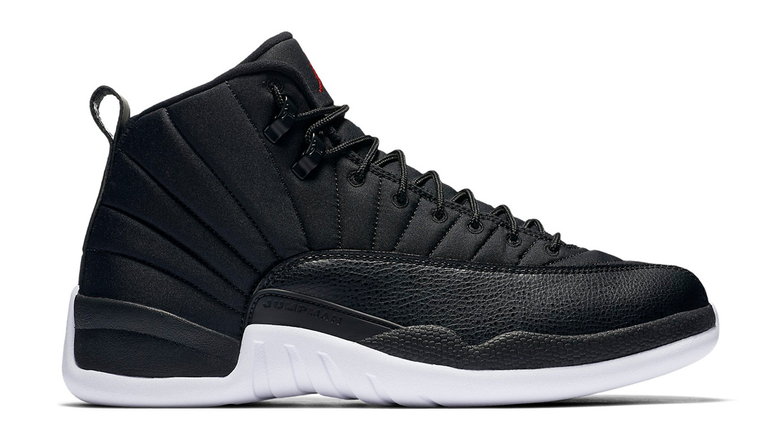 jordan retro 12 all black