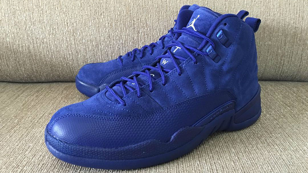f11b9bfa461d Air Jordan 12 Royal Suede Side 130690-400