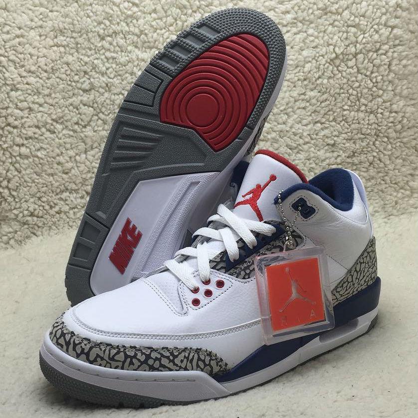 0bc91148d01 True Blue Nike Air Jordan 3 Black Friday