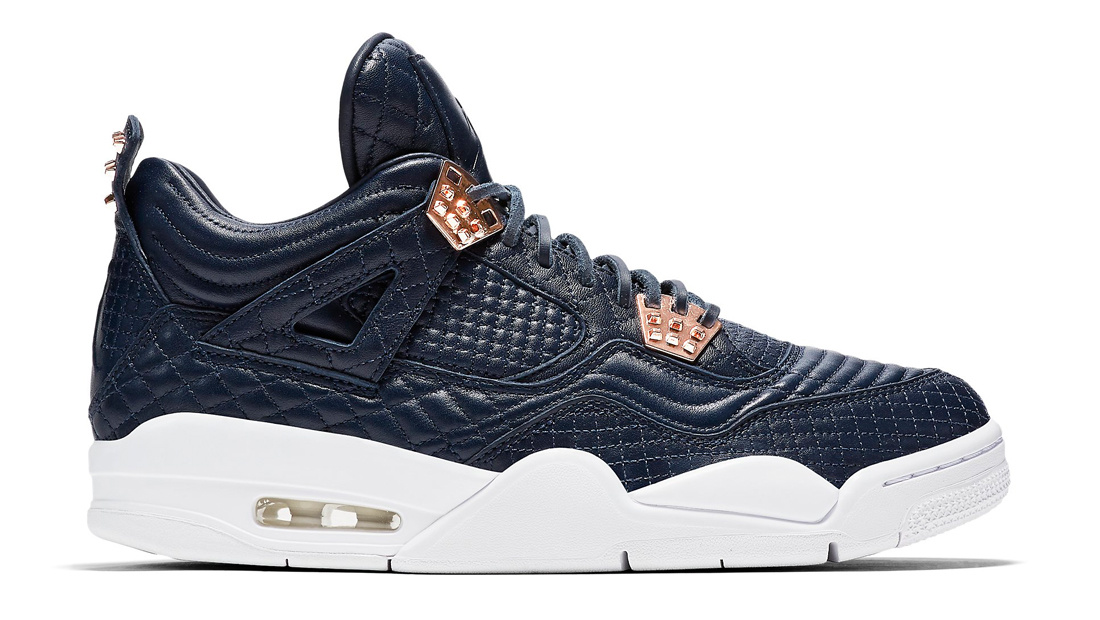 1e292779099640 Air Jordan 4 PRM Obsidian Sole Collector Release Date Roundup