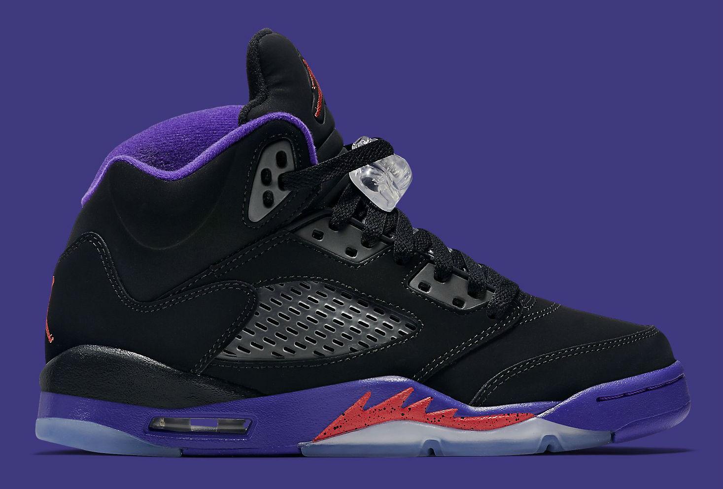 cfab7b59bd61 Air Jordan 5 GS Raptors Release Date Side 440893-017