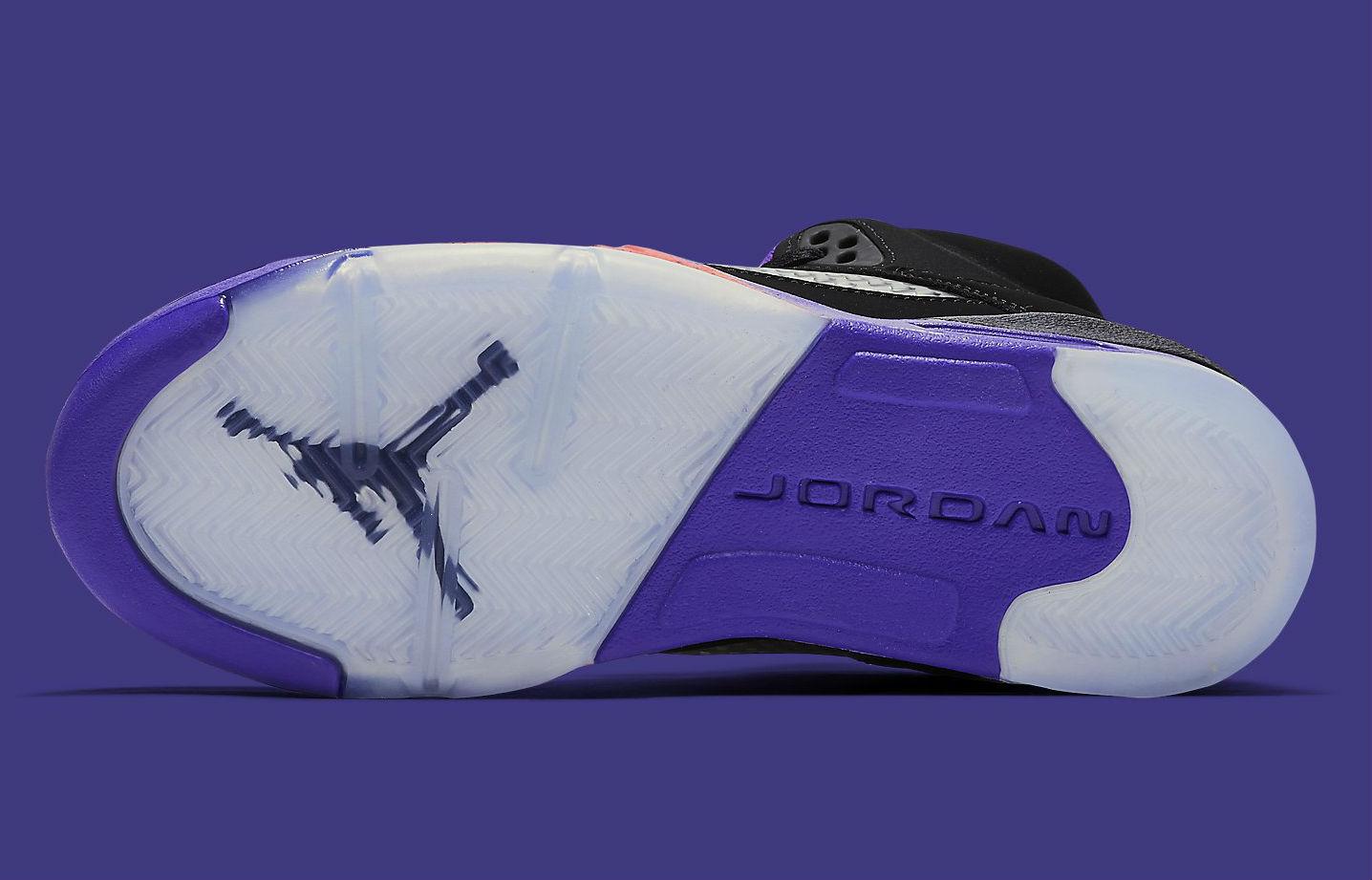 Air Jordan 5 GS Raptors Release Date Sole 440893-017