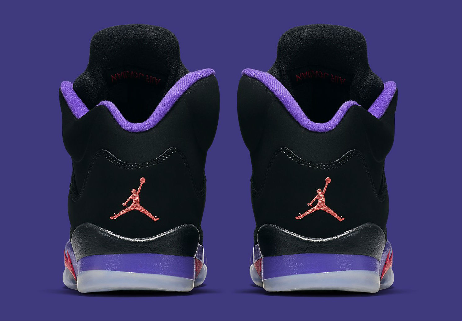 Air Jordan 5 GS Raptors Release Date Heel 440893-017