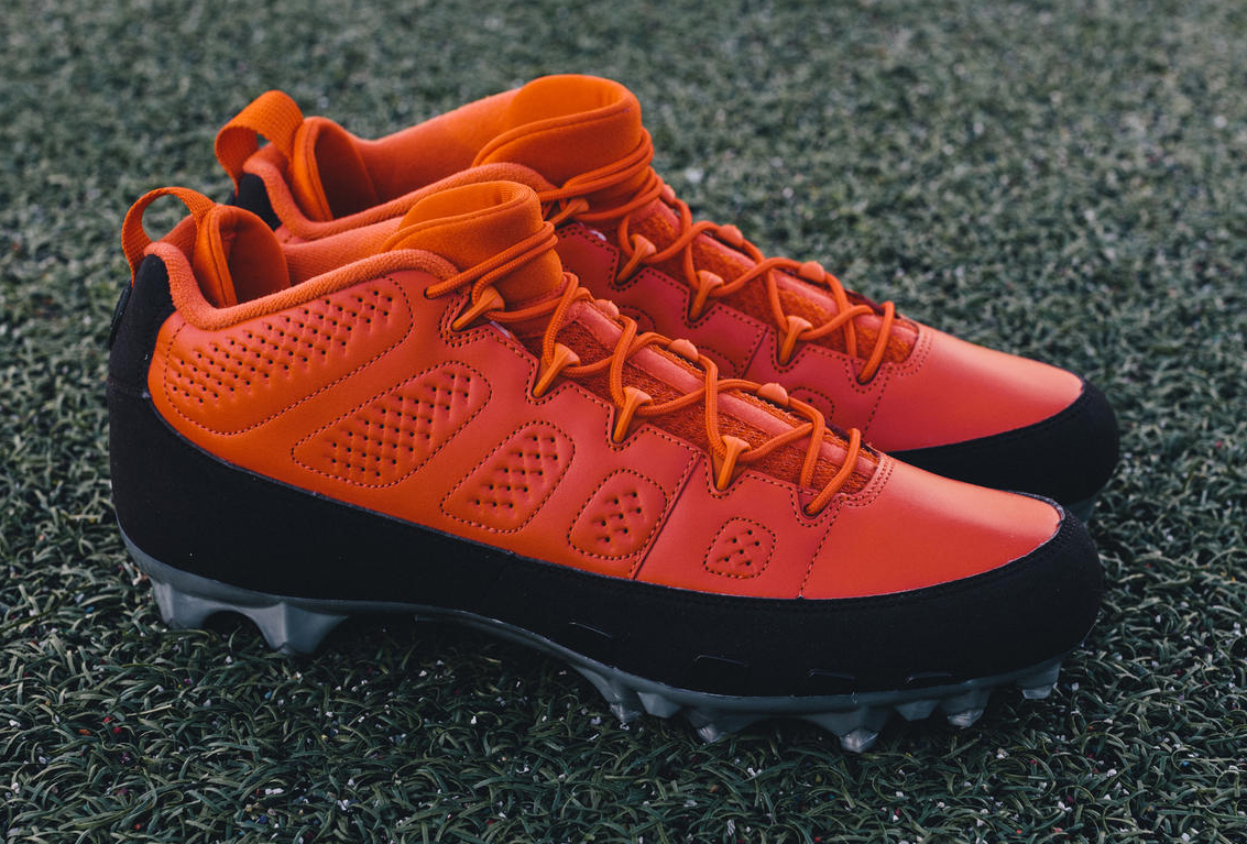 Air Jordan 9 Joe Haden Cleats