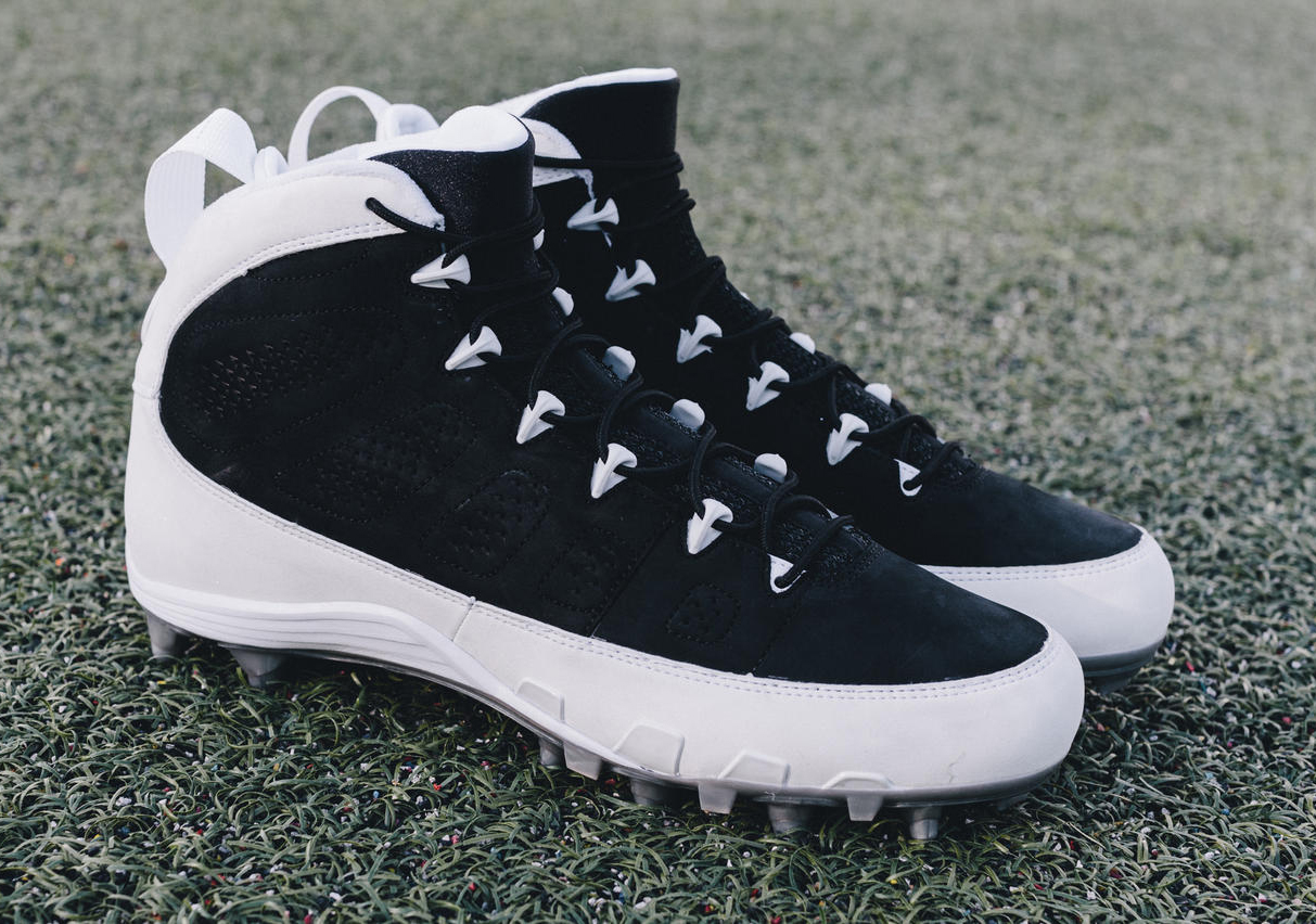 Air Jordan 9 Michael Crabtree Cleats