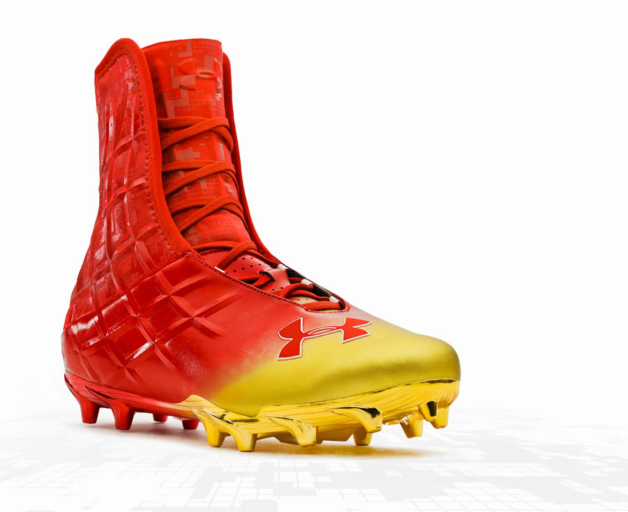 abf6eaa38d33 Cheap highlight compfit under armour football cleats Buy Online ...