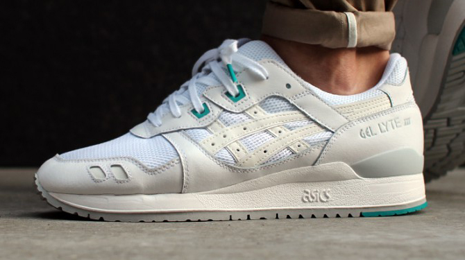 asics gel lyte 3 all white release date