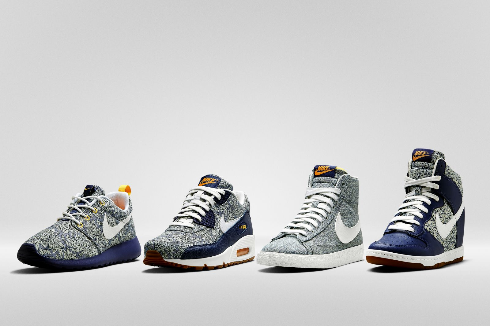 Liberty of London x Nike Sportswear Spring 2014 Collection