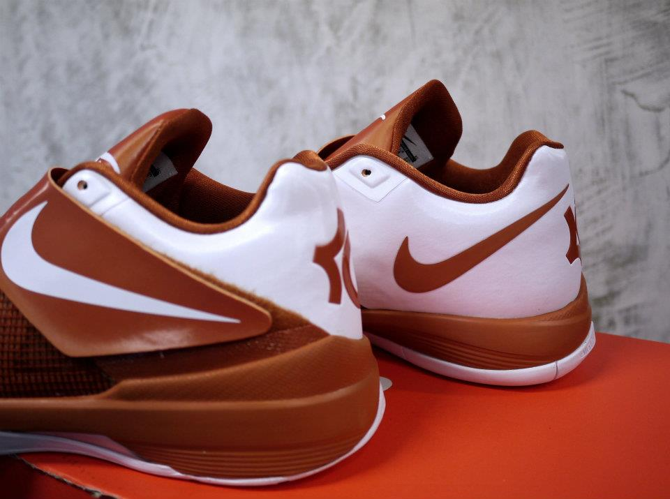 Nike Zoom KD IV 4 Texas Longhorns (4)