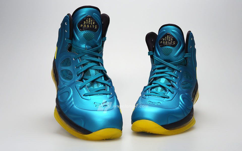 lower price with a961f 22e16 Nike Air Max Hyperposite Teal Yellow 524862-303 (3)