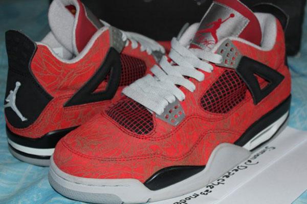 jordan 4 laser red