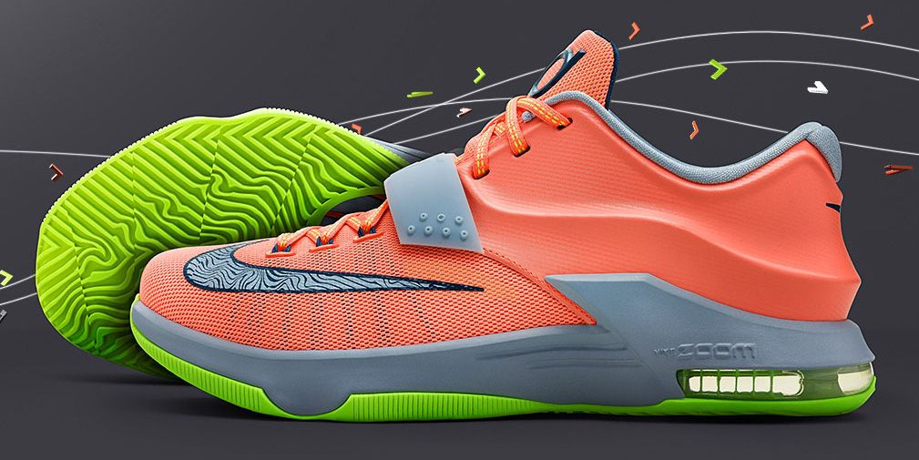 Nike KD VII 7 35,000 Degrees Release Date 653996-840
