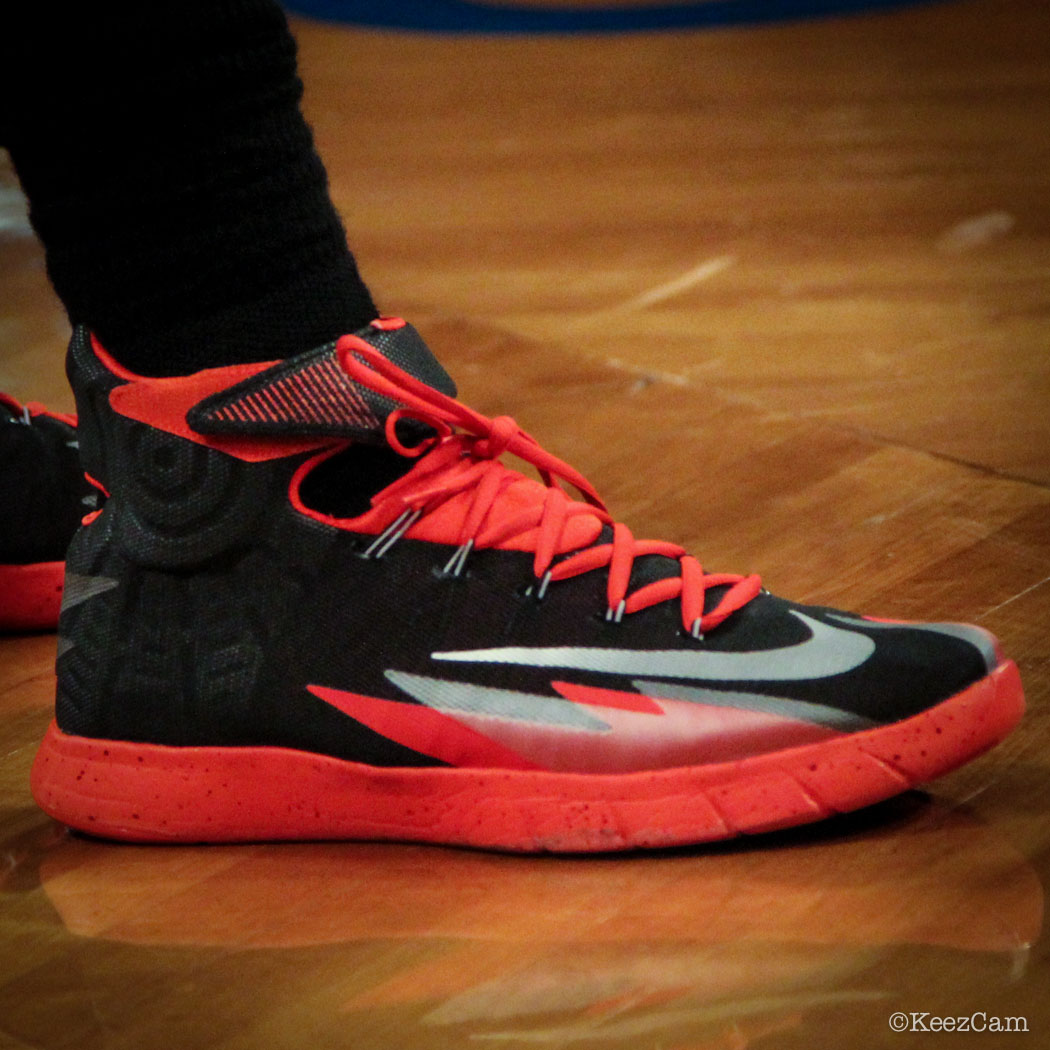 Amir Johnson wearing Nike Zoom HyperRev (1)
