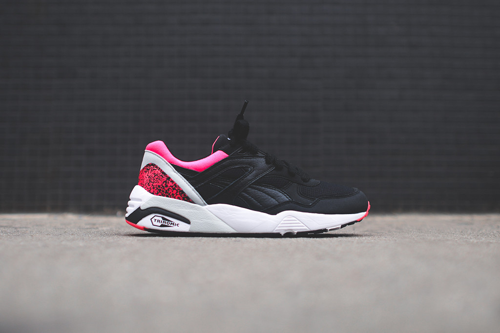 reputable site 9c4fd 2be65 PUMA R698  Black Pink