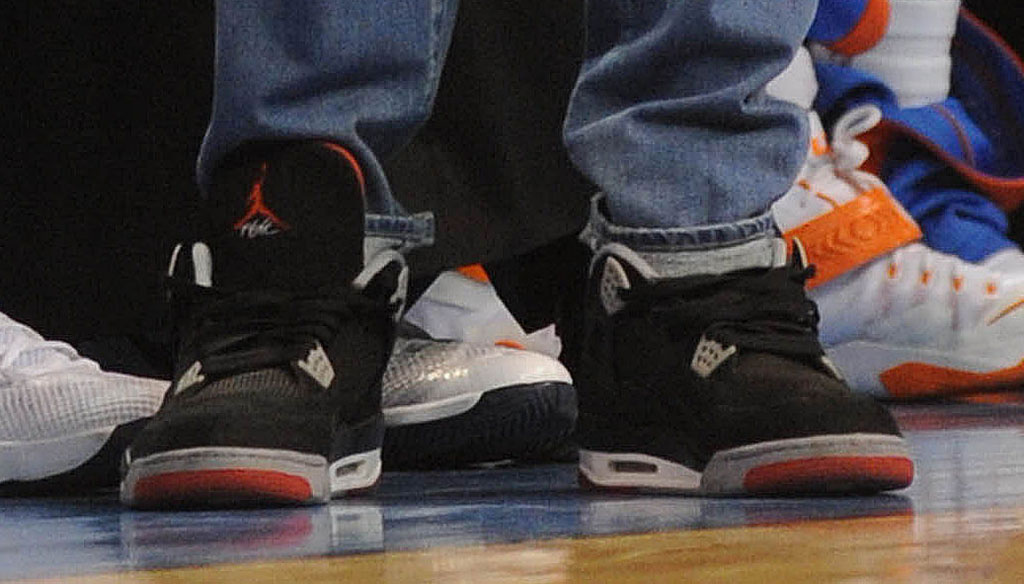 bc811ea8243f90 SoleWatch  Kevin Durant Wears the  Bred  Air Jordan 4