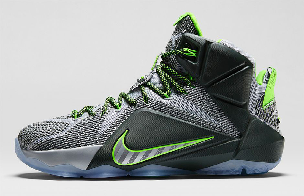 315480886ea6 Nike LeBron 12. Labeled the  Dunk Force  edition