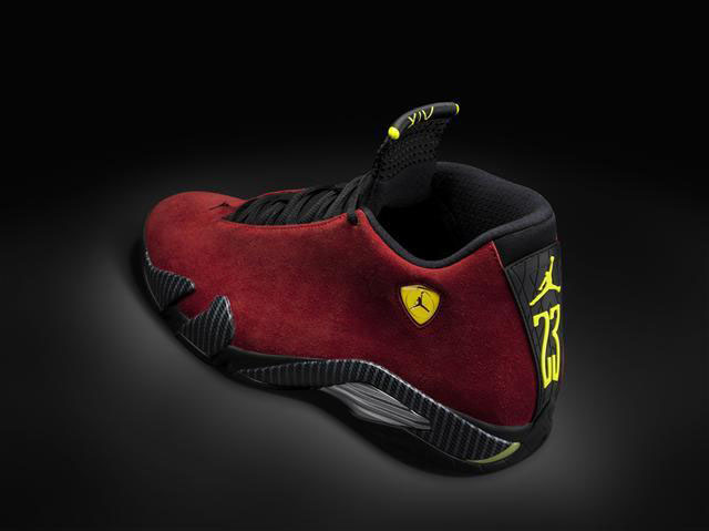 Air Jordan 14 XIV Red Suede (2)