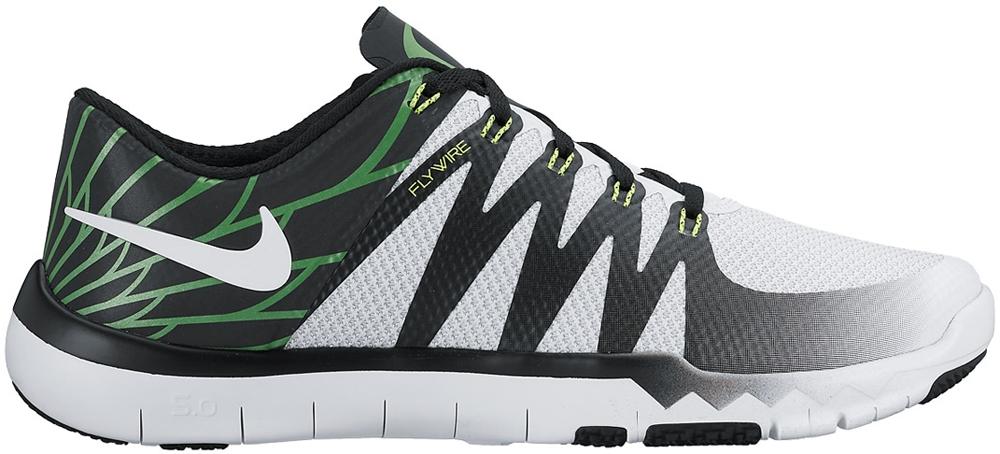 Nike Free Trainer 5.0 V6 Amp White/Metallic Silver-Volt-Black