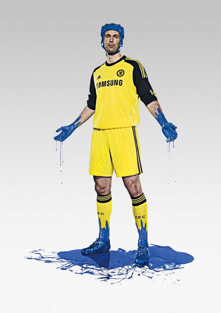 Chelsea FC & adidas Unveil 2013-14 Kit - Petr Cech