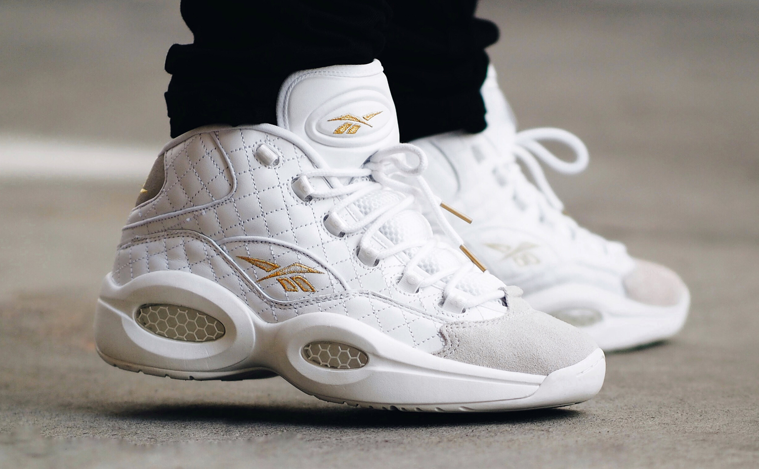 all white allen iverson shoes reebok shoes